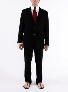Suit and Tie with GladSoles