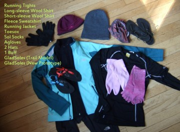 Jennie's Winter Running Gear List