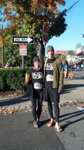 Jennie + Rich at the 2013 Maplewood 5K Race
