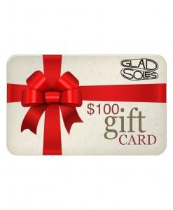 100GladSolesgiftcard