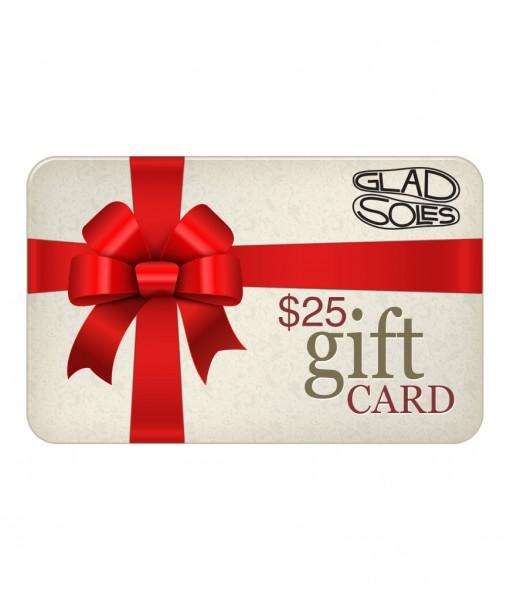 25GladSolesgiftcard